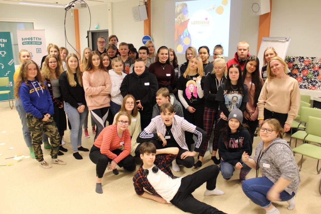 Nuorten Suomi nuorisoleirillä Piispalassa